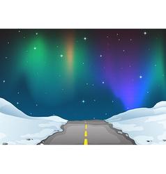 Aurora vector