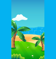 background made for mobile game reskin such as vector image