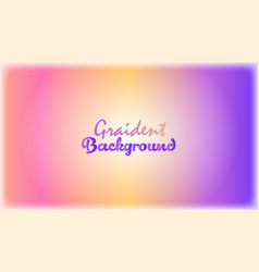 Colorful gradient background image vector