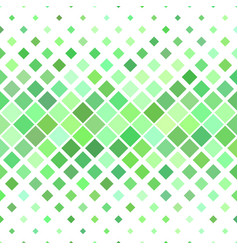 Green abstract square pattern background - from vector