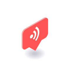 wireless and wi-fi icon symbol vector image