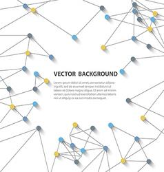 polygonal background8 vector image vector image