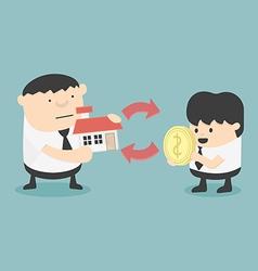 Home buying vector