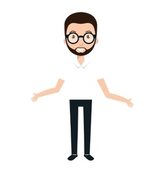 Man cartoon design vector