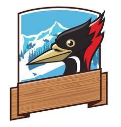 pecker head vector image
