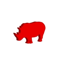Rhinoceros Bulk vector
