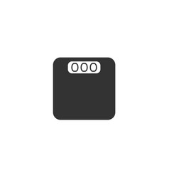 scales icon flat vector image