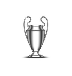 uefa champions league cup football trophy vector image