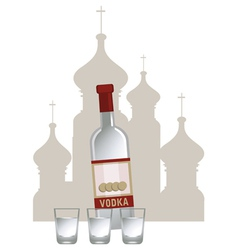 Vodka Background vector