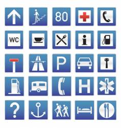 eye-candy traffic signs vector image vector image