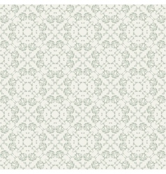 Seamless background with beige ornaments vector image