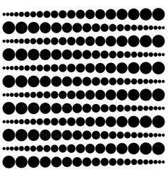 geometric pattern widening circles from a point to vector image vector image