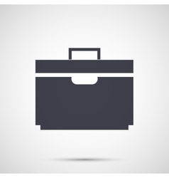 Simple design icons suitcase vector image vector image