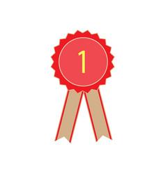 Ribbon award vector