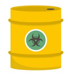 Barrel icon cartoon style vector