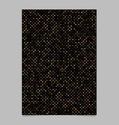 Geometrical star pattern flyer background vector