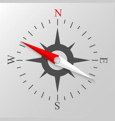 Navigation compass display vector