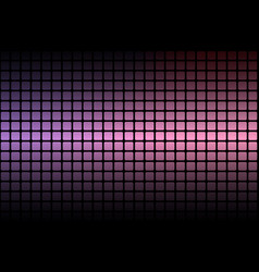 Purple blue pink abstract rounded mosaic vector