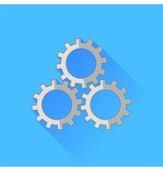 Set of Gears Icon vector image
