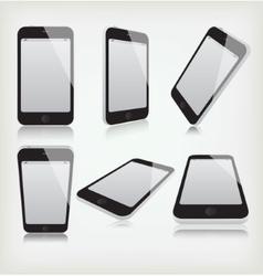 Set phone vector image