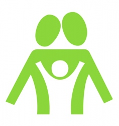 family symbol vector image