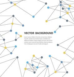 polygonal background9 vector image vector image