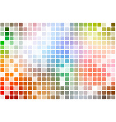 rainbow colors occasional opacity mosaic over vector image