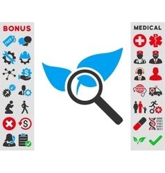 Explore Natural Drugs Icon vector image