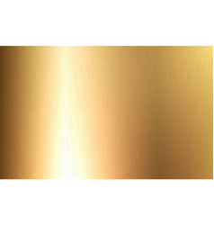 gold metallic gradient with scratches foil vector image