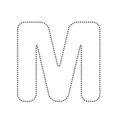 m logo script letter vector images 51