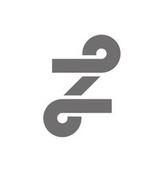 Letter Z Logo Concept Icon vector