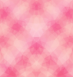 Light Pink Polygonal Pattern vector