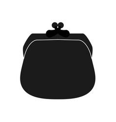 Money purse object vector