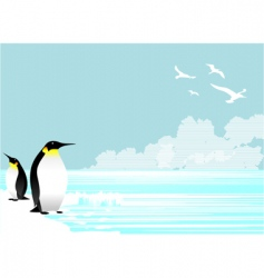Penguins vector