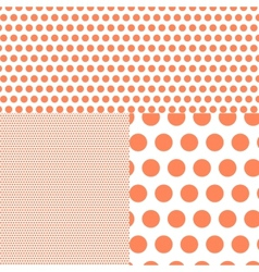 Polish polka dot abstract background vector image