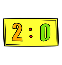 Score icon icon cartoon vector