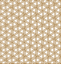 Seamless abstract patten based on japanese vector