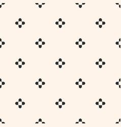 simple floral texture vintage geometric seamless vector image