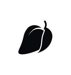 isolated fleshy icon mango element can b vector image
