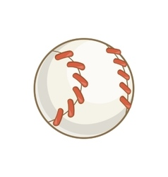 Baseball ball icon cartoon style vector image