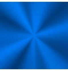 Blue technology metal background vector