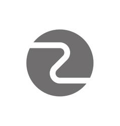 Letter Z Logo Concept Icon vector image