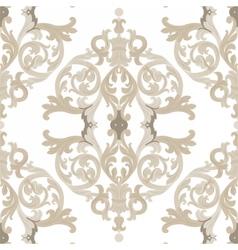 Vintage Baroque ornament vector