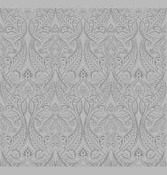 vintage middle eastern arabic pattern vector image