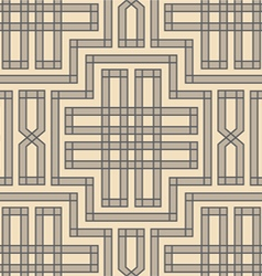 vintage pattern braid vector image