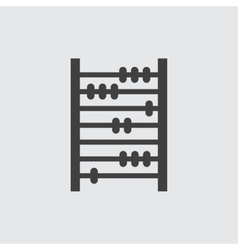 Abacus icon vector image