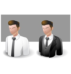 People Icons Businessman vector image vector image