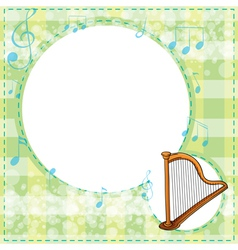 A musical stationery vector image vector image