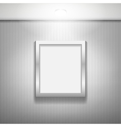 Gallery frames vector image