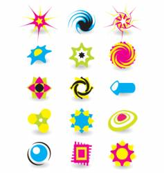 element logos vector image